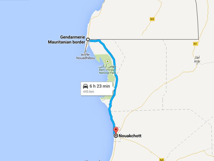frontiere mauritanienne_nouakchott