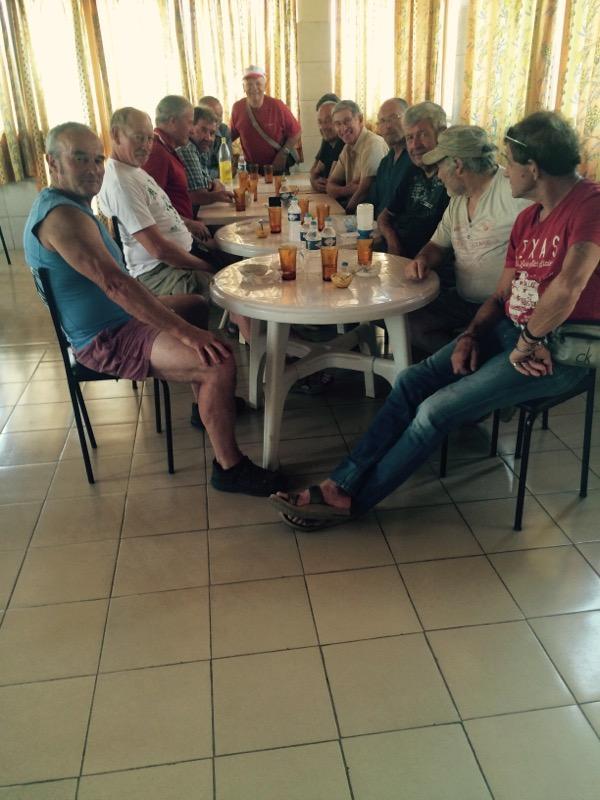 Repas détente à l'hôpital Schiphra